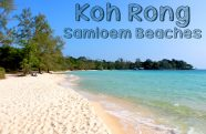 Koh Rong Samloem Beaches by Drone