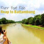 River Boat from Siem Reap to Battambang Review